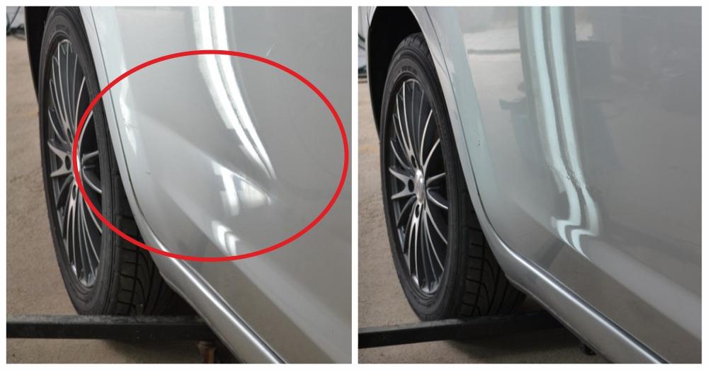 Удаление и ремонт вмятин без покраски кузова