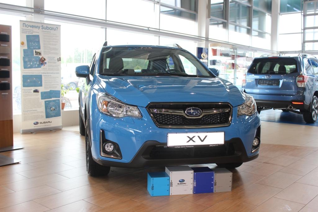 Лимитированная версия Subaru XV уже в Кемерово
