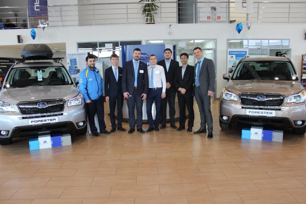 Визит генерального директора компании ООО «Субару Мотор» в Кемерово