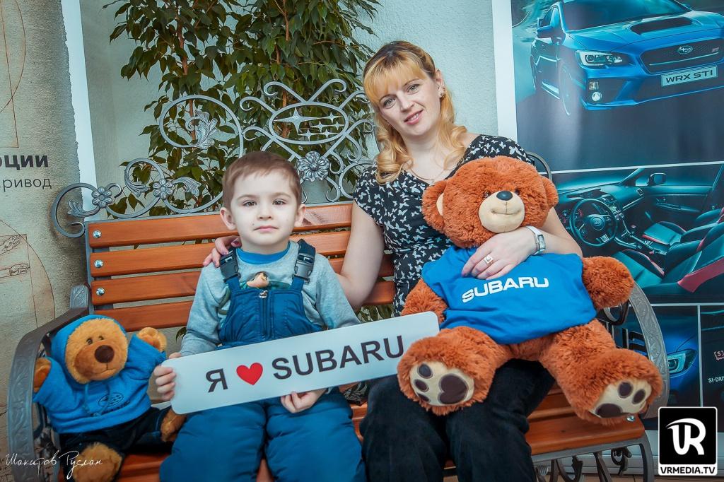 В Кемерове состоялся День влюбленных в Subaru